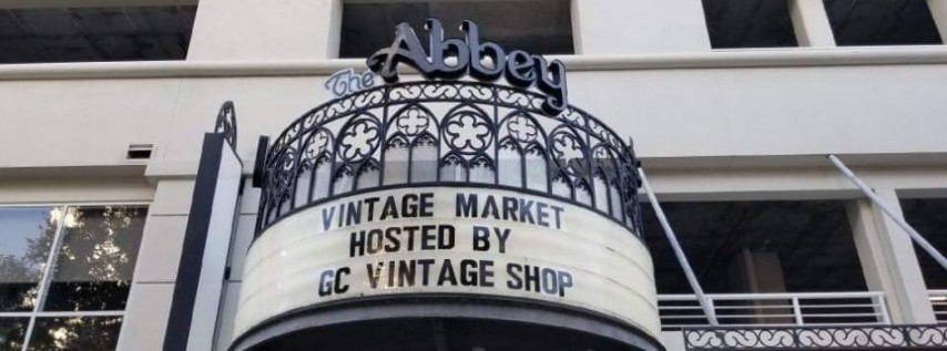 Vintage Holiday Market at The Abbey