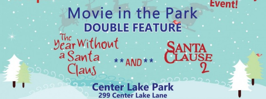 Movie in the Park Double Feature