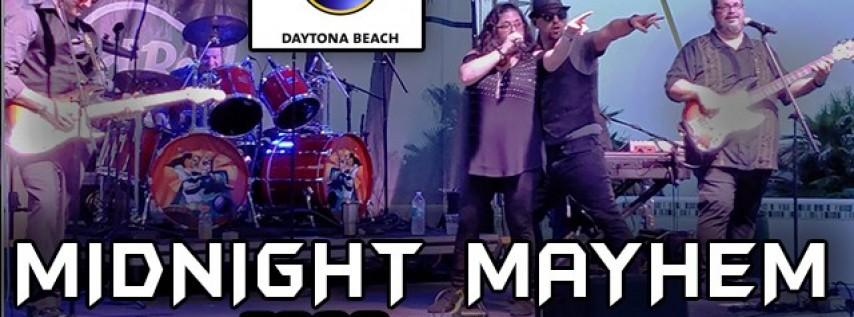 Midnight Mayhem at Hard Rock Daytona Saturday 2/22!