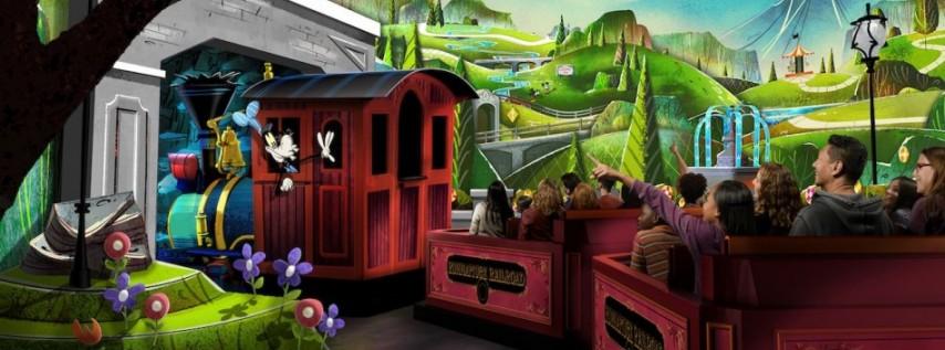Mickey & Minnie's Runaway Railway opens!