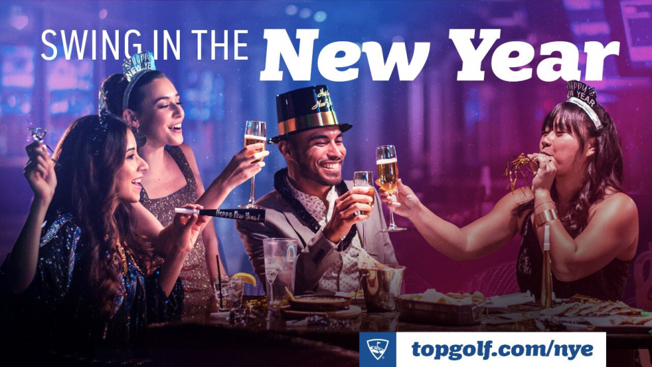 New Years Eve at Topgolf