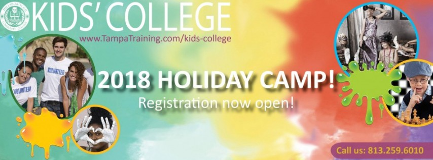 Holiday Camp Registration