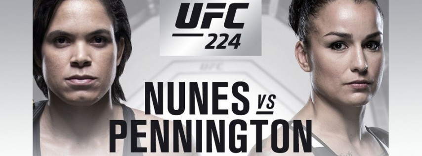 Watch UFC 224 at GameTime!