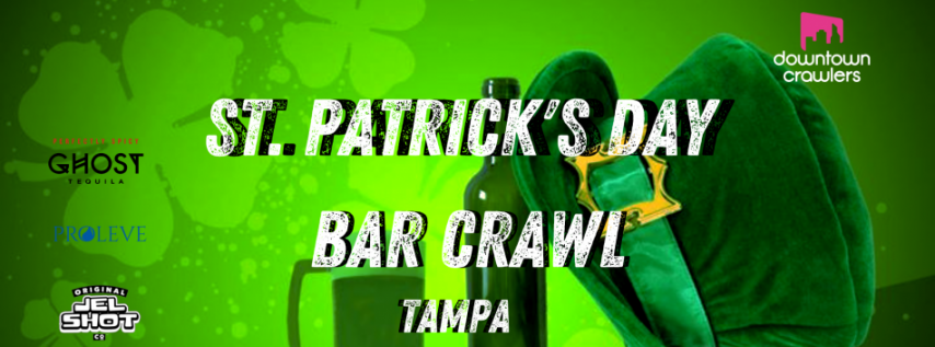 St Patrick's Day Bar Crawl - Tampa