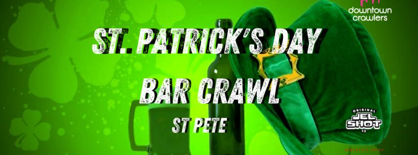 St Patrick's Day Bar Crawl - St. Pete