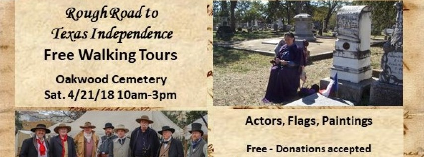 Rough Road to Texas Independence Free Walking Tours