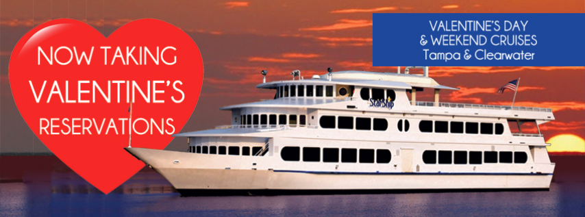 valentine's day late **vip** dinner cruise (tampa), tampa fl - feb, Ideas