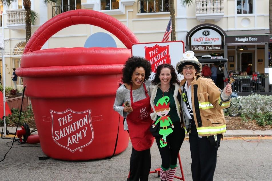 Salvation Army of Broward Seasonal Bell Ringers Job Fair