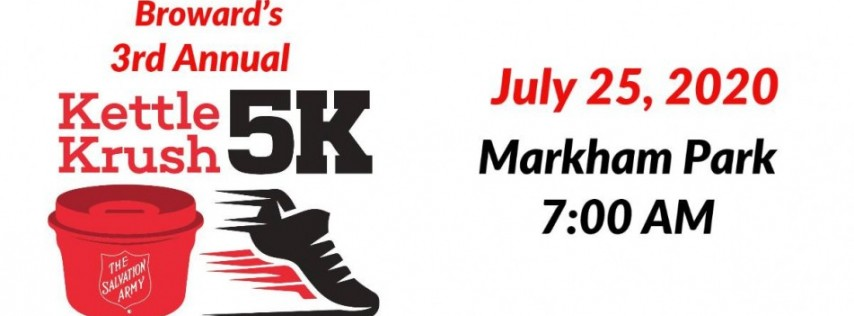 The Salvation Army of Broward County's Third Annual Kettle Krush 5K