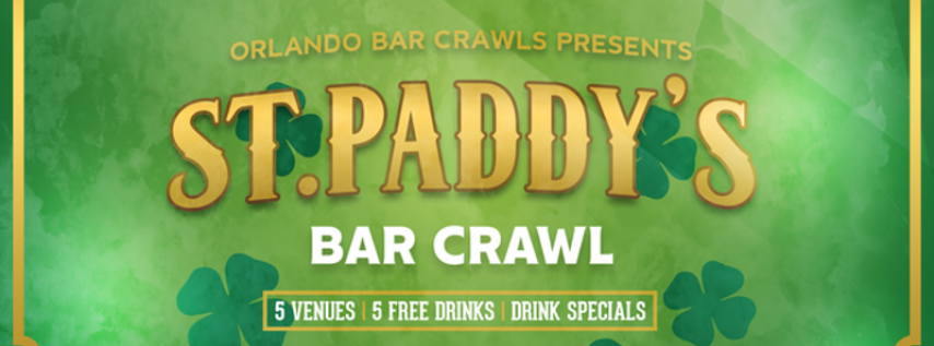 St. Patrick's Day Bar Crawl in Orlando