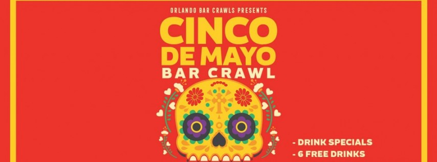 Cinco de Mayo Orlando Bar Crawl