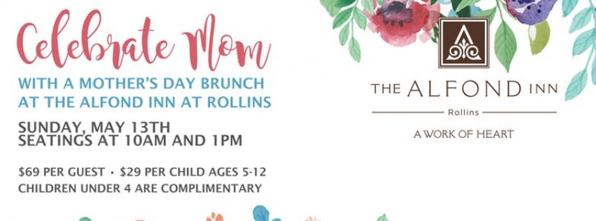 Mother's Day Brunch at The Alfond Inn