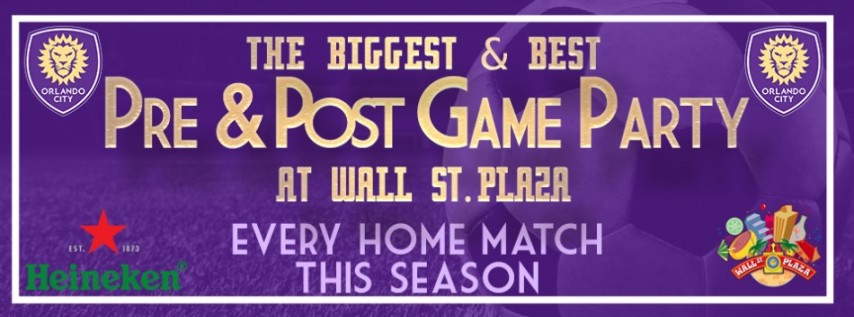 Orlando City Soccer Pre & Post Match Party