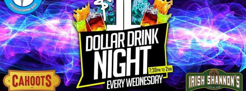 $1 Drink Wednesdays