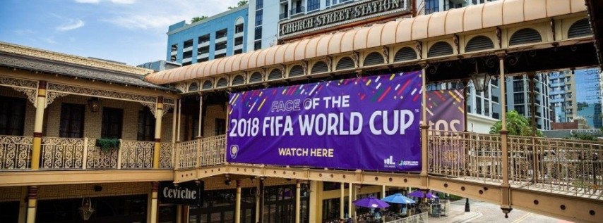 2018 FIFA World Cup Final Watch Party on Church Street
