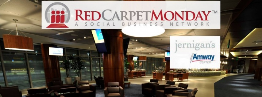 RedCarpetMonday Networking Event at Jernigan's at Amway Center