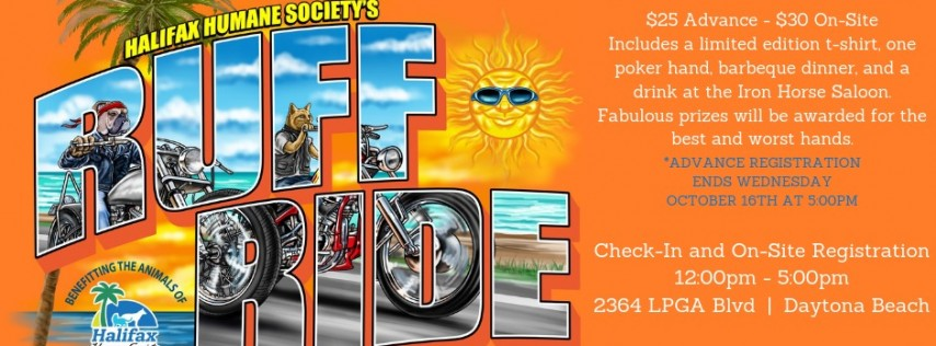 Biketoberfest Ruff Ride Poker Run