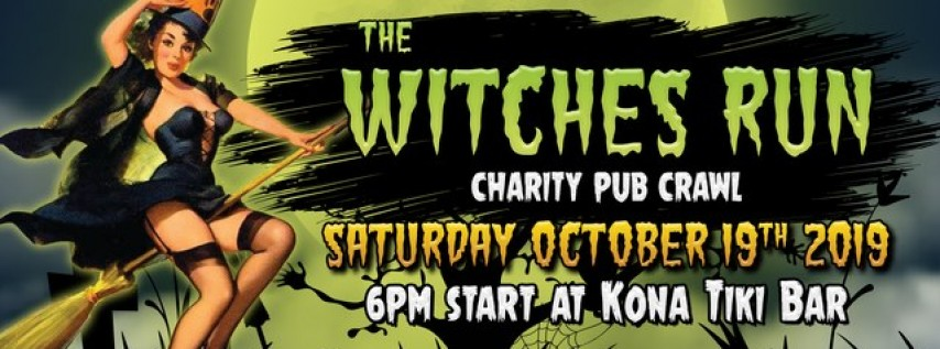 Witches Run: Charity Pub Crawl