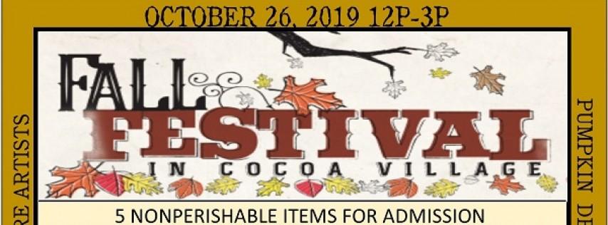 Cocoa Village Fall Festival 2019