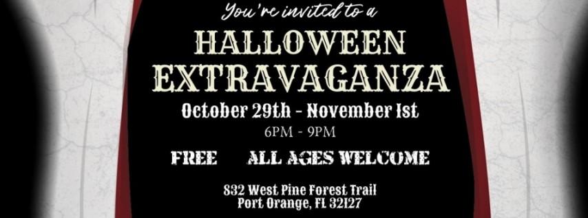 7th Annual Halloween Yard Walkthrough