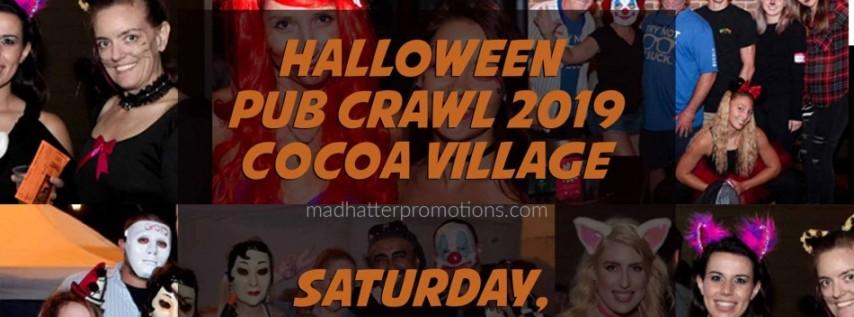 Halloween Pub Crawl Cocoa Village