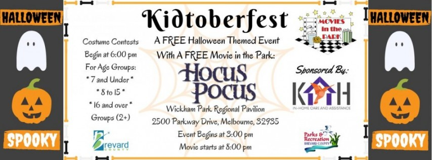 5th Annual Kidtoberfest Event at Wickham Park