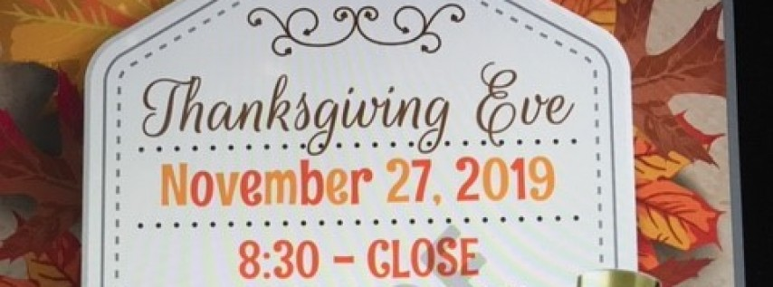 Thanksgiving Eve at Ocean Deck