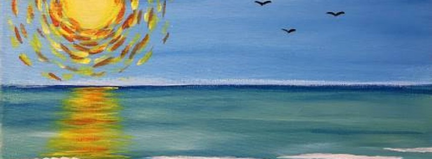 Cookies & Canvas Family Event: Sunny Day at the Beach