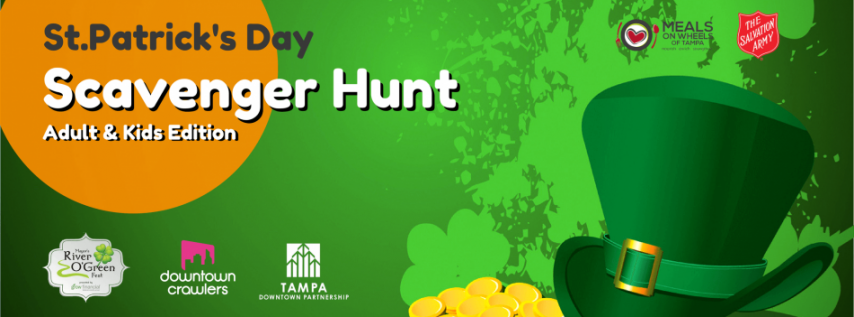 St.Patrick's Day Scavenger Hunt (Kids Edition)