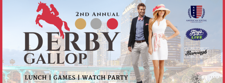 2nd Annual Tampa Derby Gallop - Lunch, Games, Watch Party