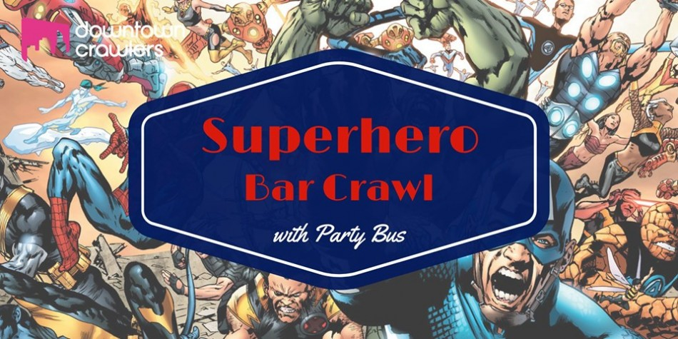Tampa's Superhero Bar Crawl with Party Bus