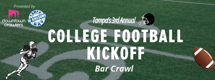 Tampa's College Football Kickoff Bar Crawl