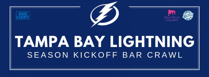 Tampa Bay Lightning Season Kickoff Bar Crawl