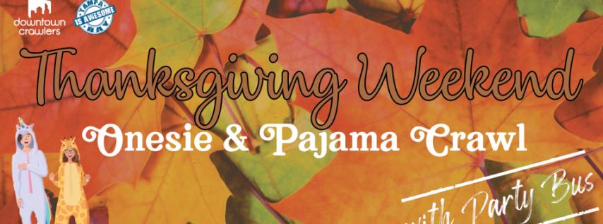Tampa's Thanksgiving Weekend Onesie & Pajama Bar Crawl