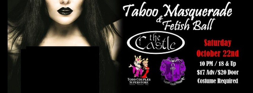 taboo masquerade ball at the castle 2016 tampa fl oct 22 2016 1000 pm - Violet Castle 2016