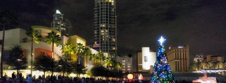 Tampa Tree Lighting Ceremony 2017
