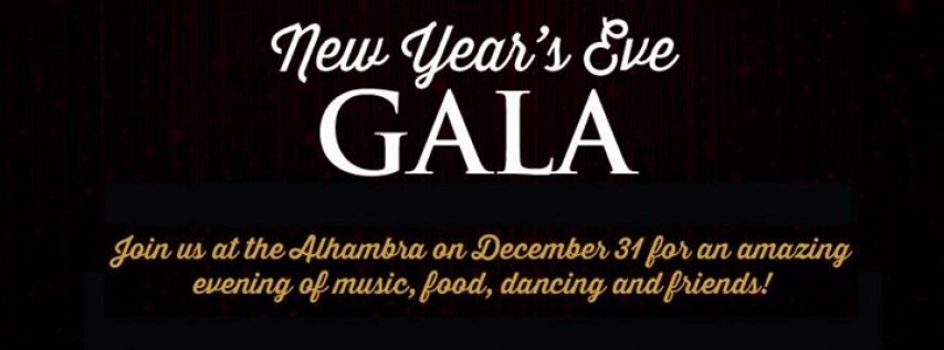 New Year's Eve Gala, Jacksonville FL - Dec 31, 2016 - 6:30 PM