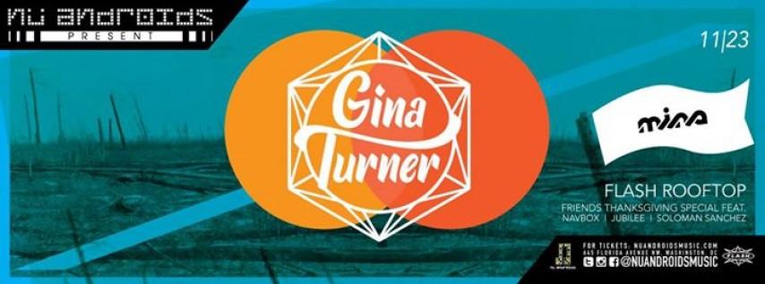 Gina Turner / Navbox & Friends / Kellam Matthews at Flash