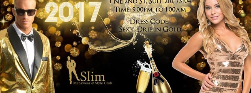 24k Gold NYE Fashion Party