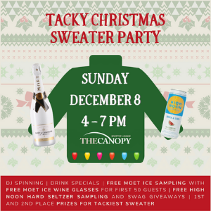 Tacky Christmas Sweater Contest