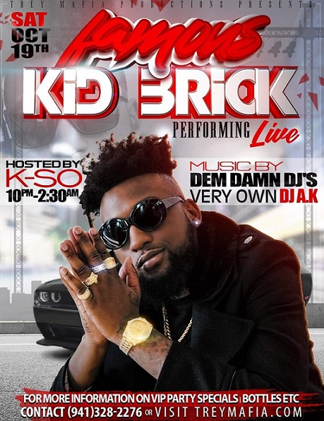 Famous Kid Brick Performing LIVE