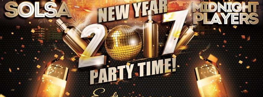 Nye 2017 with the MIDNIGHT PLAYERS & SOLSA