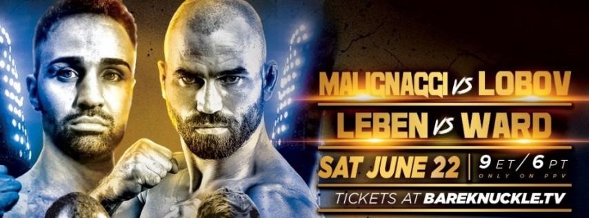 Bare Knuckle FC 6: Malignaggi vs Lobov