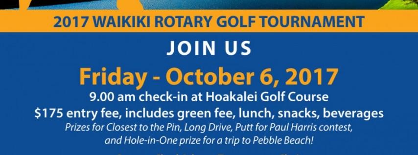 Waikiki Rotary Club Golf Tournament