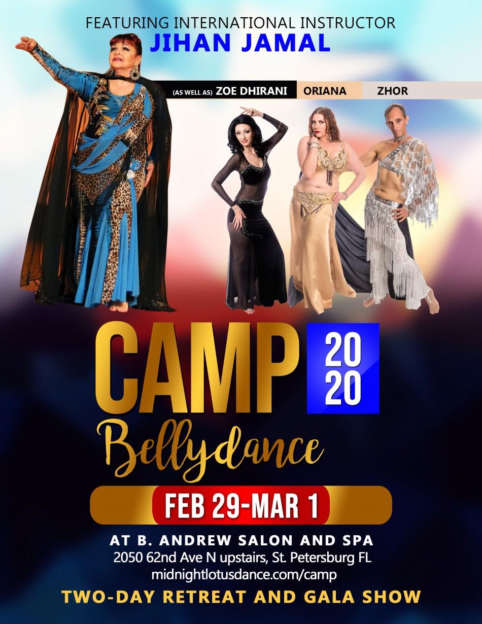 Camp bellydance 2020