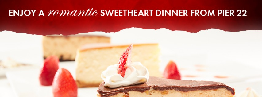 BRADENTON'S MOST ROMANTIC RESTAURANT OFFERS SWEETHEART DINNER VALENTINES DAY.
