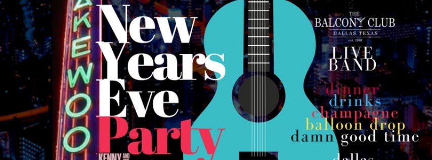 New Years Eve at The Balcony Club! Reserve your Table