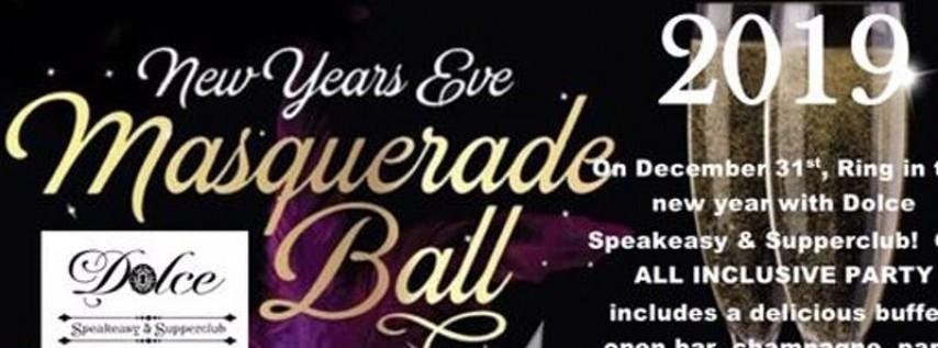 Masquerade Ball New Years Eve 2019