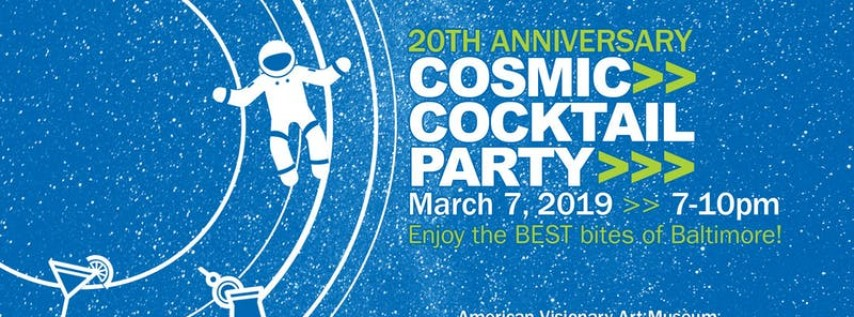 20th Anniversary Cosmic Cocktail Party