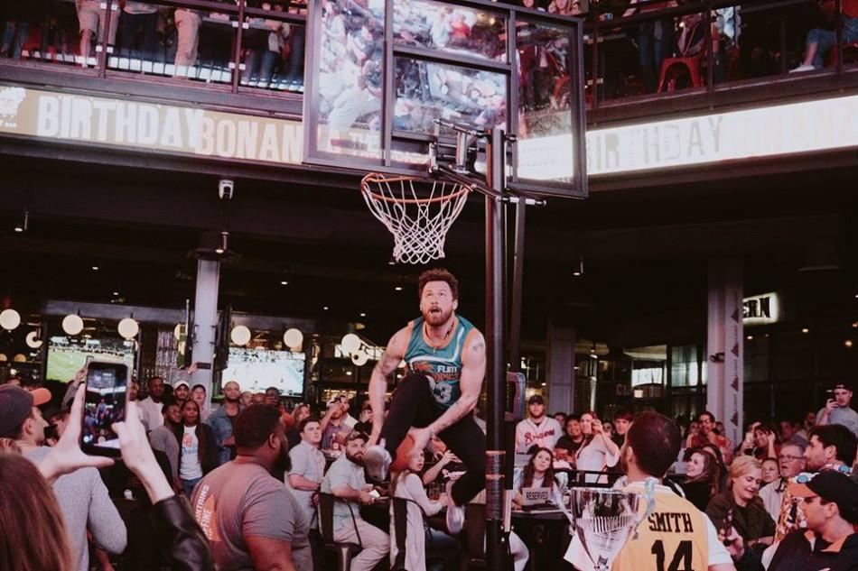 Retro Basketball Party